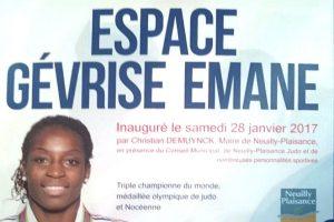 Gevrise Emane championne du monde de judo
