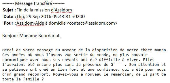 Aide à domicile à Paris 19
